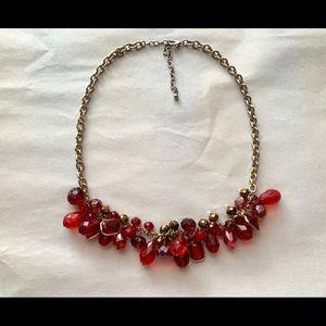 Red Briolette ❤️Valentines❤️ Necklace